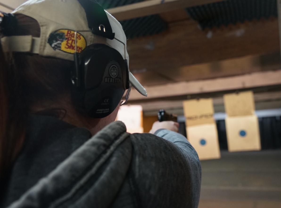 Woman shooter