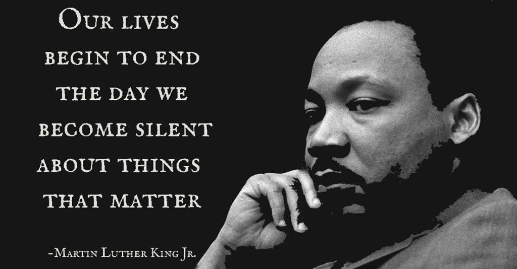MLK Jr. Silence